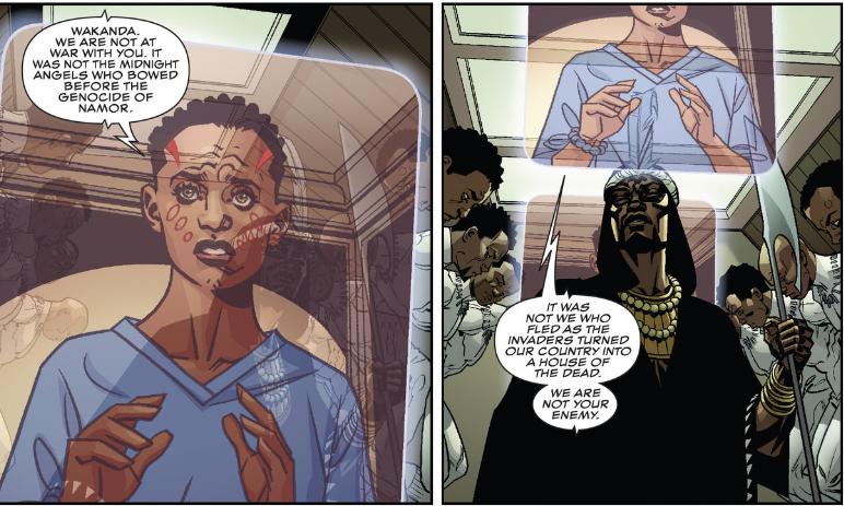 Wakanda's Dora Milaje are greatly influenced by Namor's assault on the Golden City