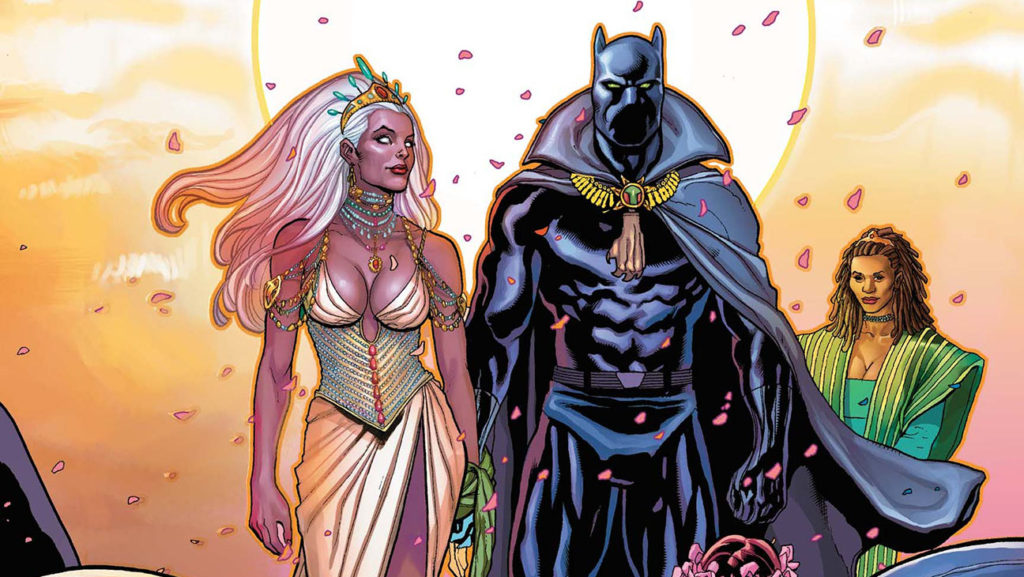 The Wedding of Black Panther and Storm