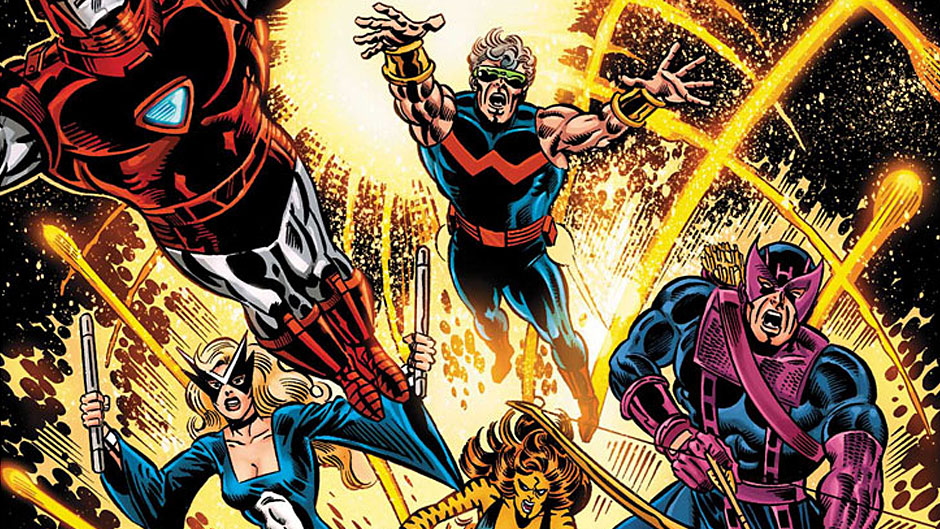 The launch of Marvel's West Coast Avengers