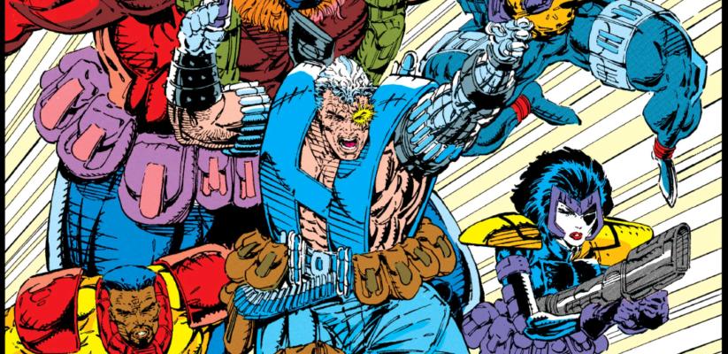 Domino in 90s X-Force Comics