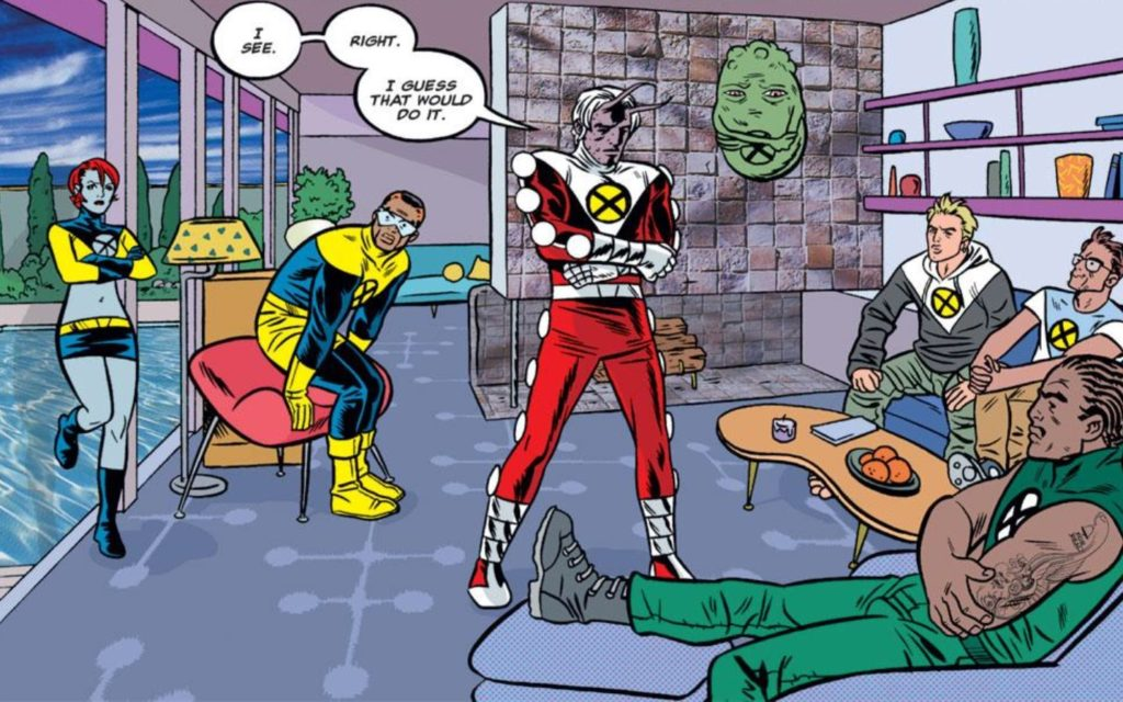 Marvel's X Statix with art by Mike Allred