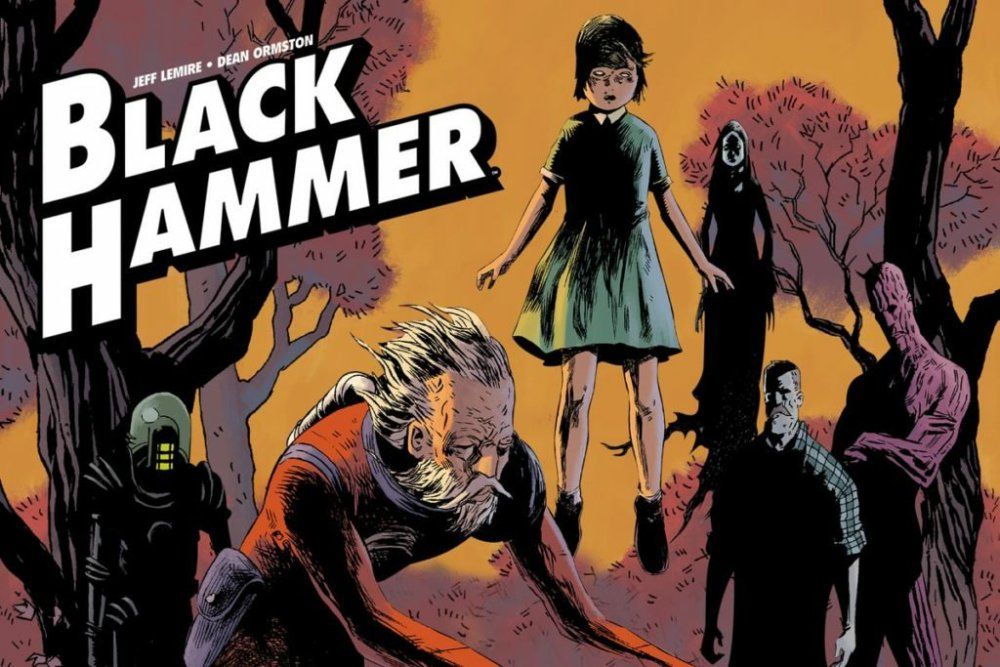 Jeff Lemire and Dean Ormstrom's Black Hammer