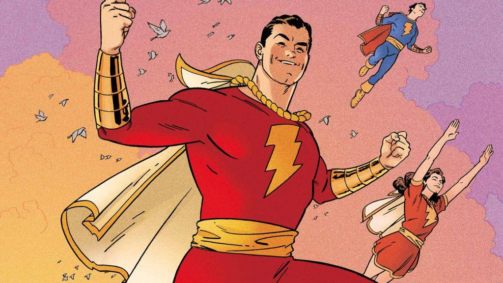 Shazam aka Captain Marvel in DC Comics