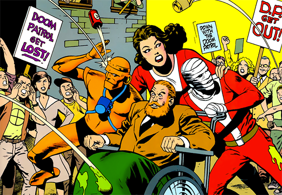 Doom Patrol Silver Age comic books
