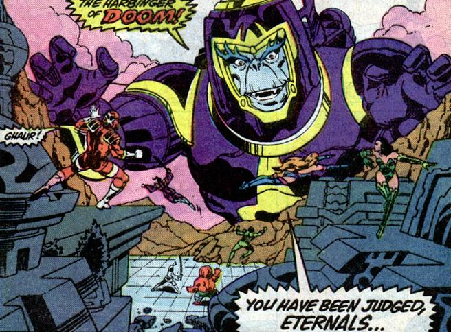 Ghaur comes for the Eternals