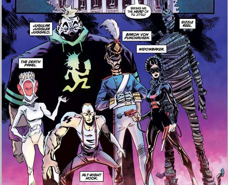 The villains of Aftershock comics Fu Jitsu