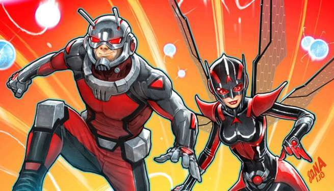 Marvel Fresh Start Wasp with Ant-Man