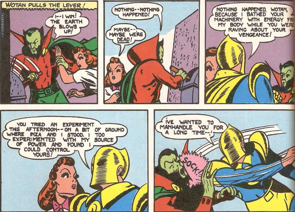 Doctor Fate in DC's Golden Age of Comics