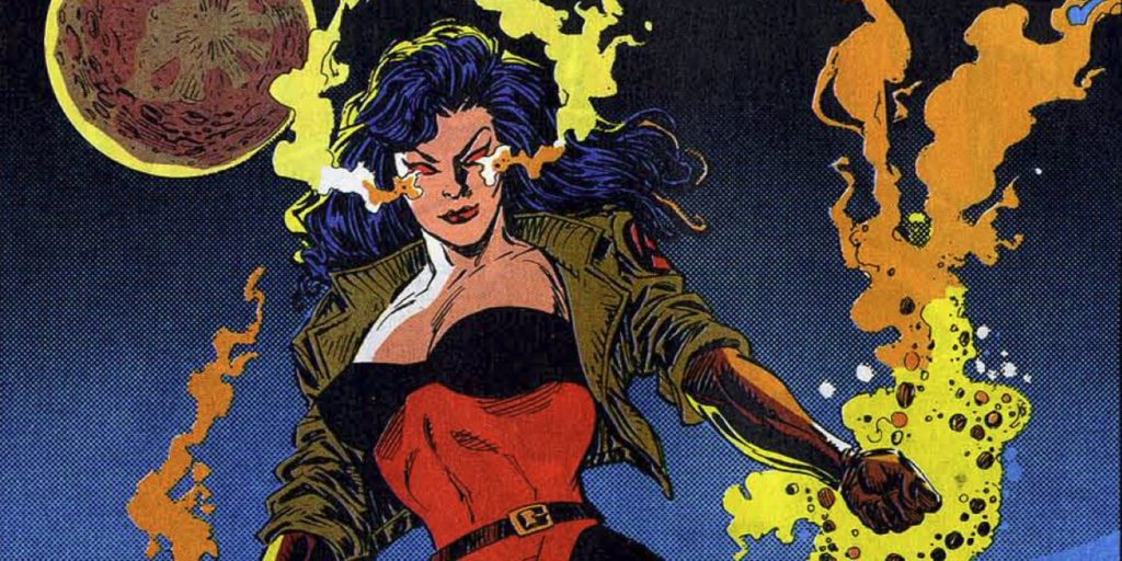 The Eternal Sersi joined the Avengers during Marvel Comics of the 1990s