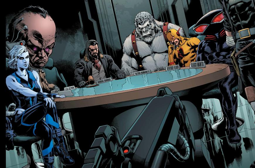 DC Rebirth Society in Deathstroke #25