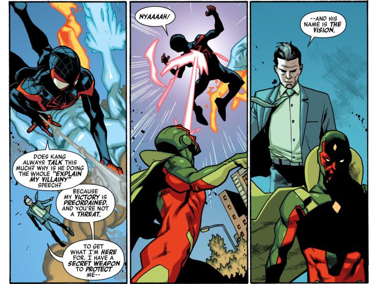 Miles Morales joins the Avengers