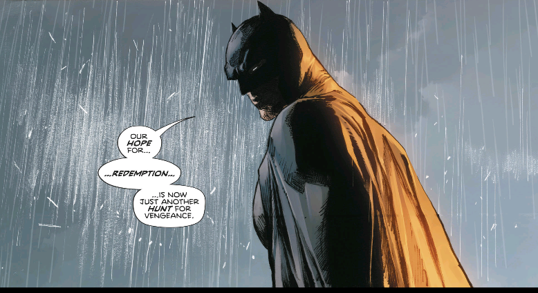 batman addresses the destruction of sanctuary in heroes in crisis