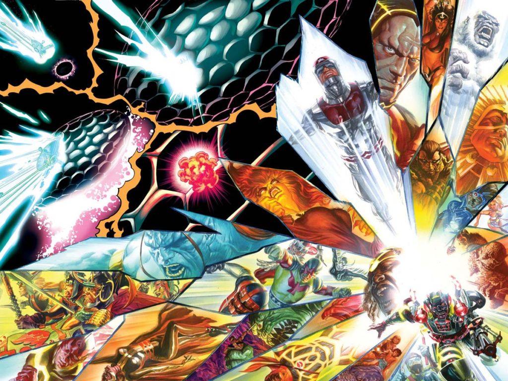 Jack Kirby's Genesis comic books by Dynamite Entertainment