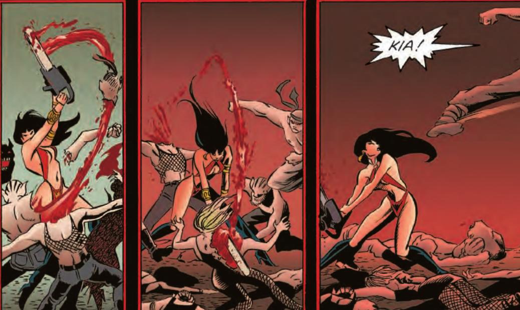 vampirella comic books from Dynamite