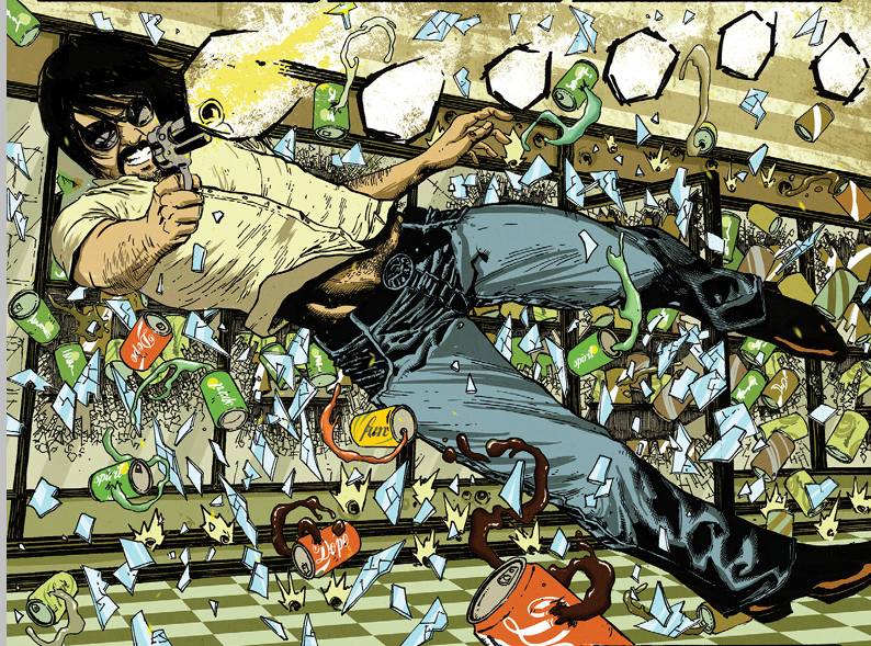 Black Mask comics Clandestino