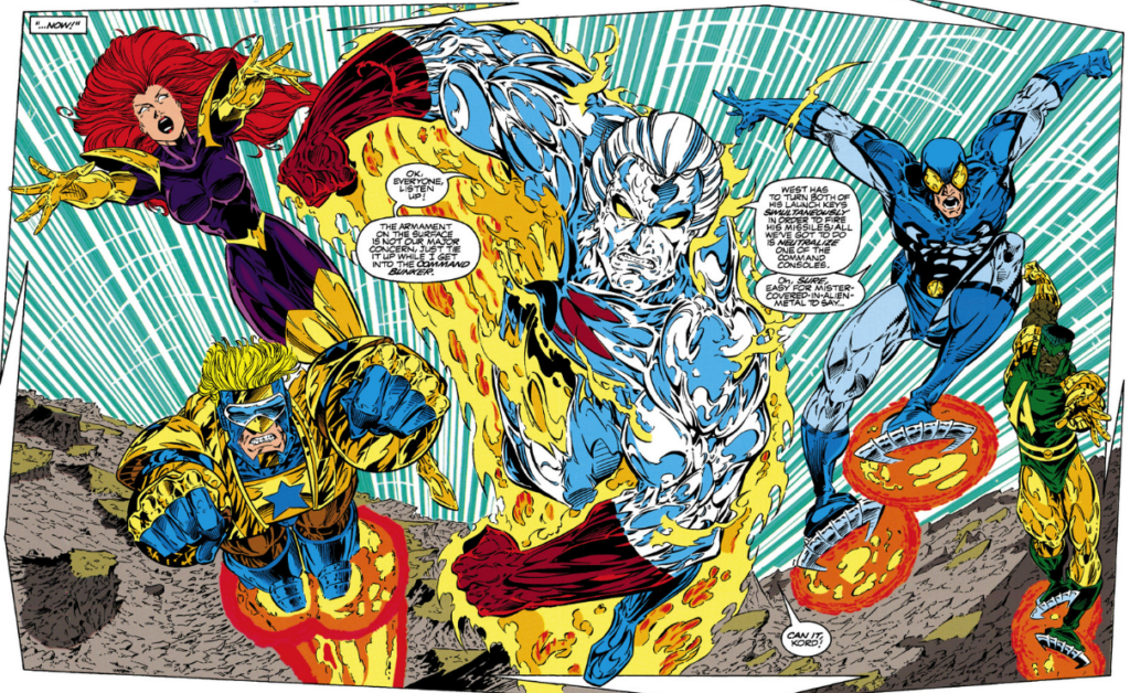 DC's 90s Extreme Justice