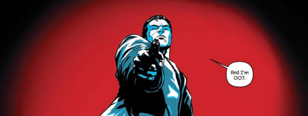 James Bond is 007 in these Dynamite comic books