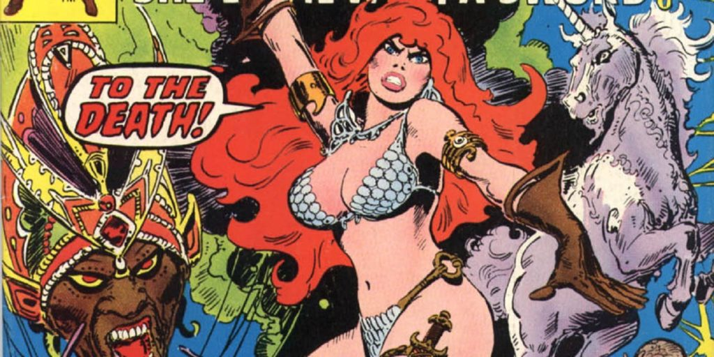 Red Sonja's earliest comic books at Marvel