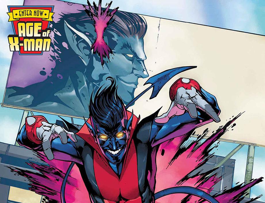 The Amazing Nightcrawler during Marvel's Age of X-Man event
