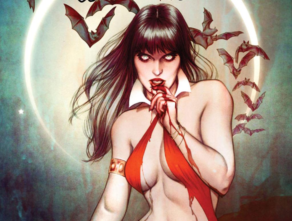 Vampirella from Dynamite Comics