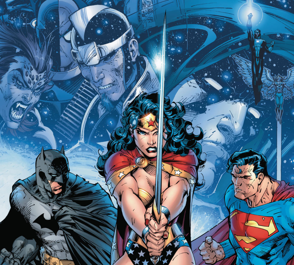 The DC Trinity get ready for Infinite Crisis