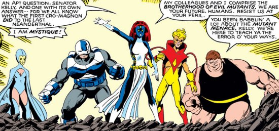Mystique in Uncanny X-Men