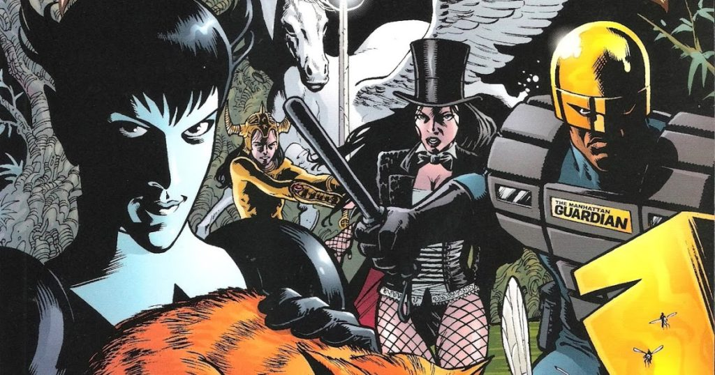 Grant Morrison's DC Comics Seven Soldiers of Victory event