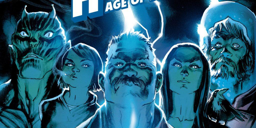 Black Hammer superhero universe comics