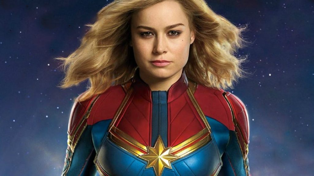 the MCU's Captain Marvel movie poster