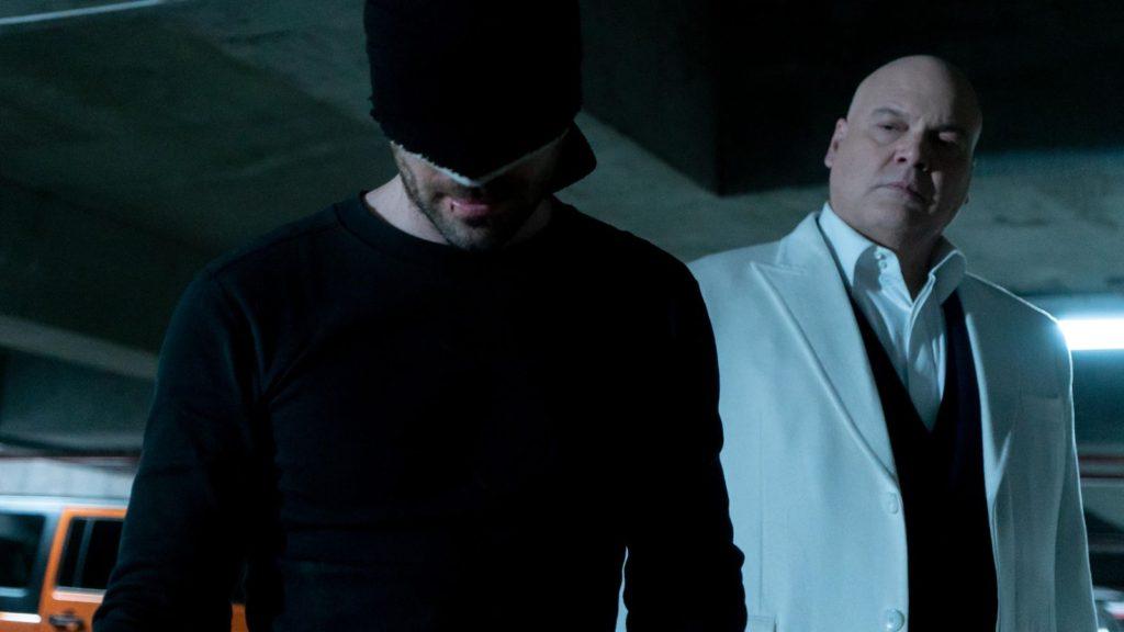 Daredevil season three boxing ring scene