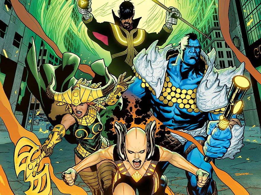 DC's New Age of Heroes comics