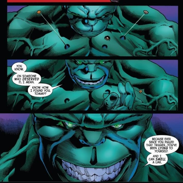 Issue #1 of Marvel's Immortal Hulk