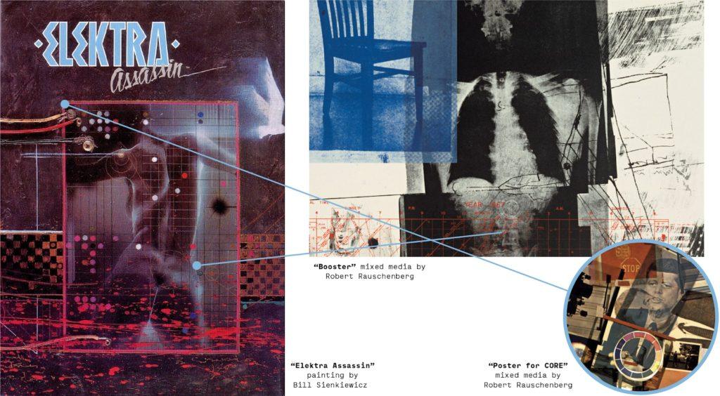 Bill Sienkiewicz Elektra art