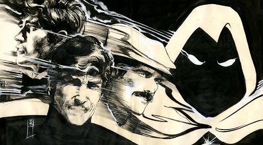 Bill Sienkiewicz on Marvel's Moon Knight