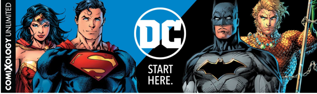 DC is on Comixology Unlimited
