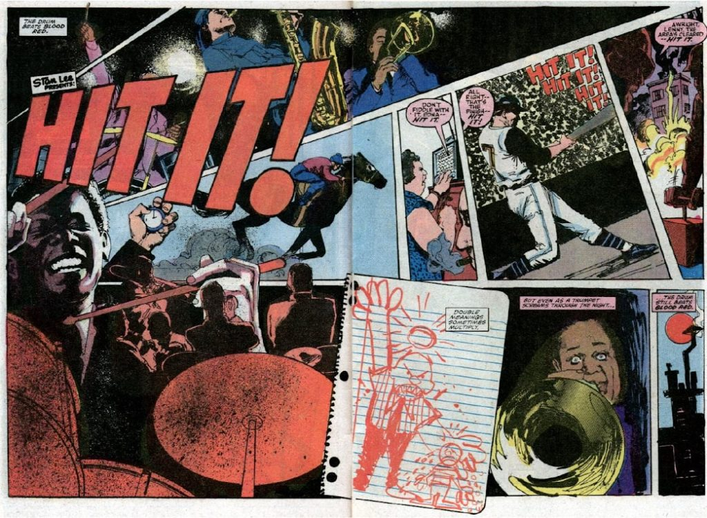 """Moon Knight in the story """"Hit It"""""""