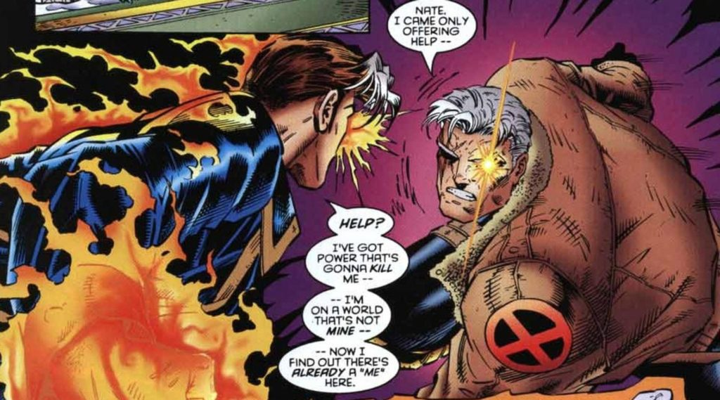 Nate Grey the X-Men meets Cable