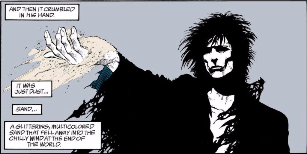 Neil Gaiman written Sandman comics for Vertigo