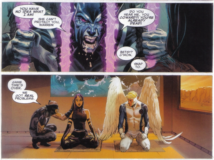 Uncanny X-Force in the final story