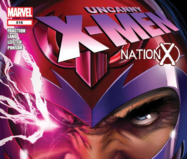Magneto joins the X-Men in Nation X