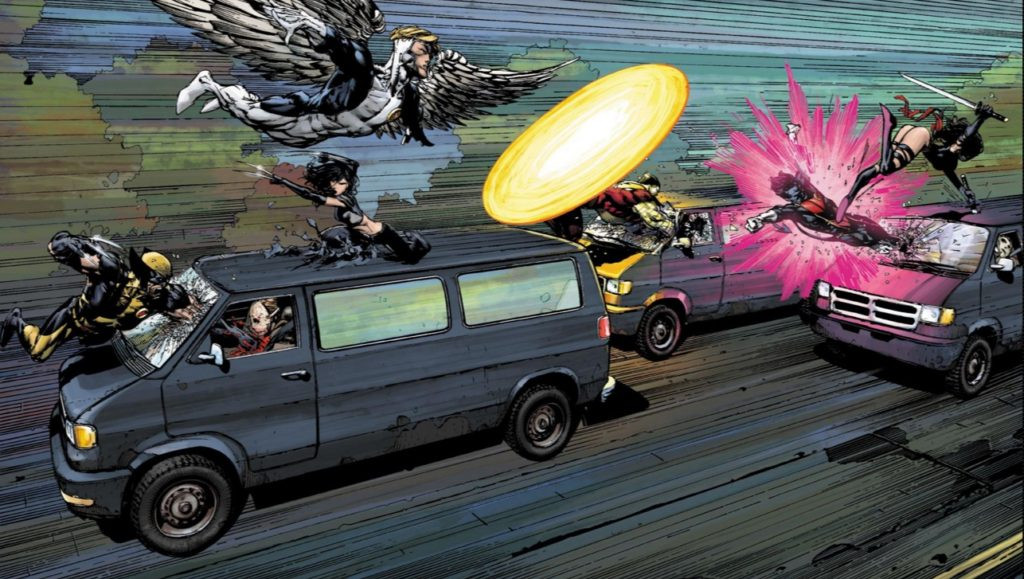 The X-Men Second Coming comic book event