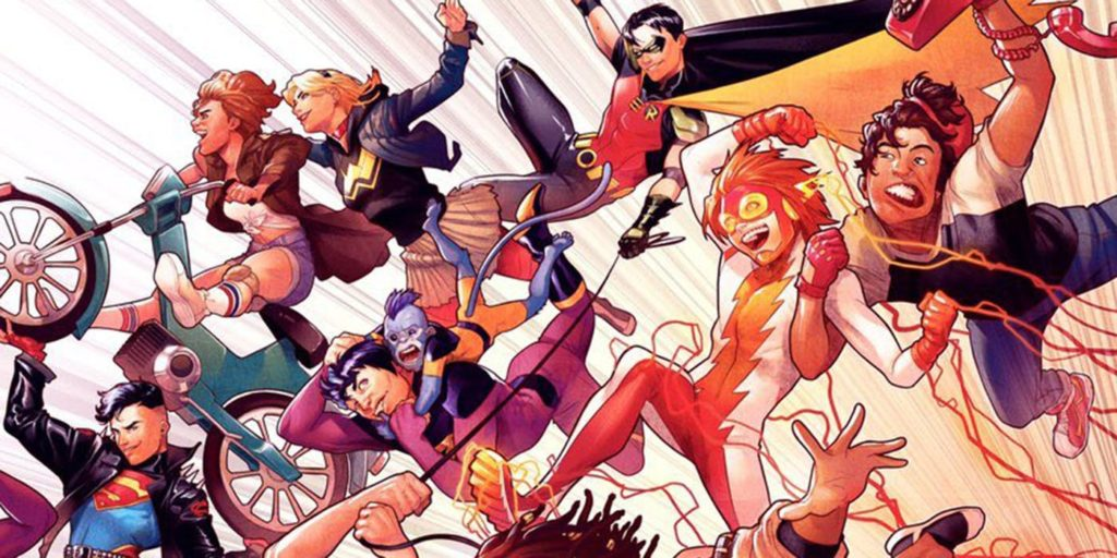 Young Justice relaunch in 2019