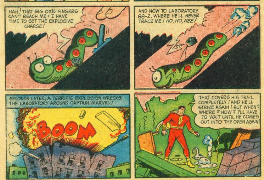 Captain Marvel vs Mister Mind