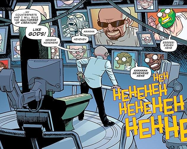 Dr. Sivana in Multiversity comic Thunderworld
