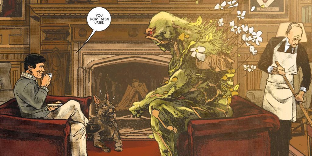 """swamp thing in the """"the Brave and the Mold"""""""