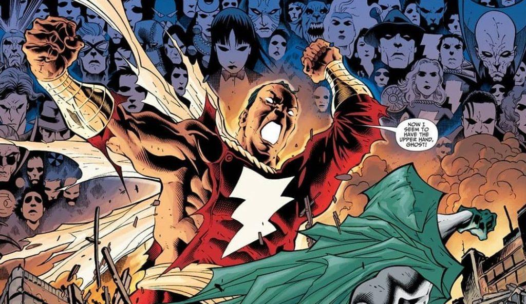 """Captain Marvel in DC""""s Infinite Crisis"""