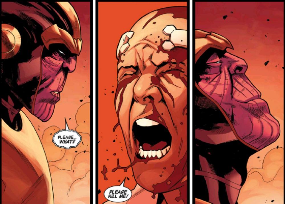 Thanos kills the X-Men