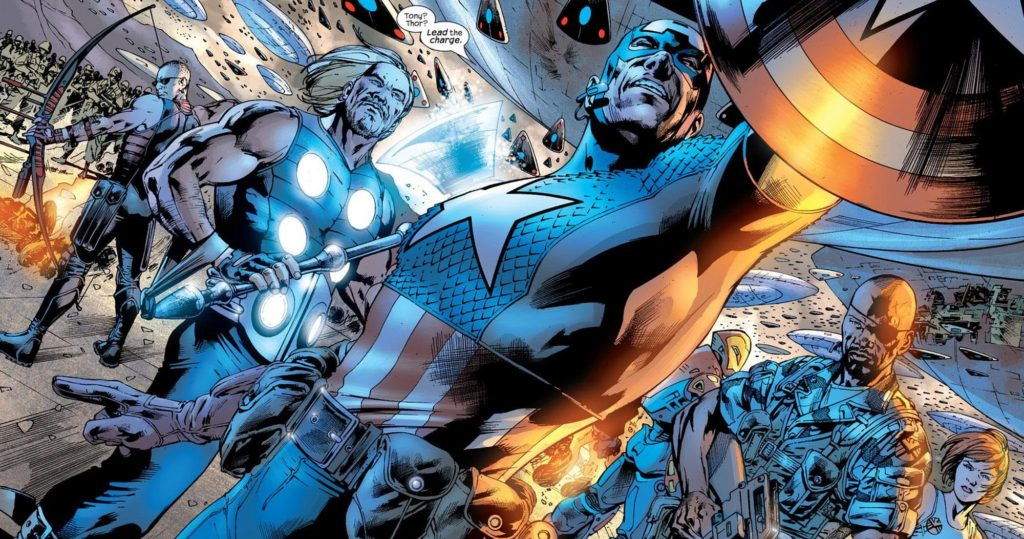 The Ultimates led by Captain America