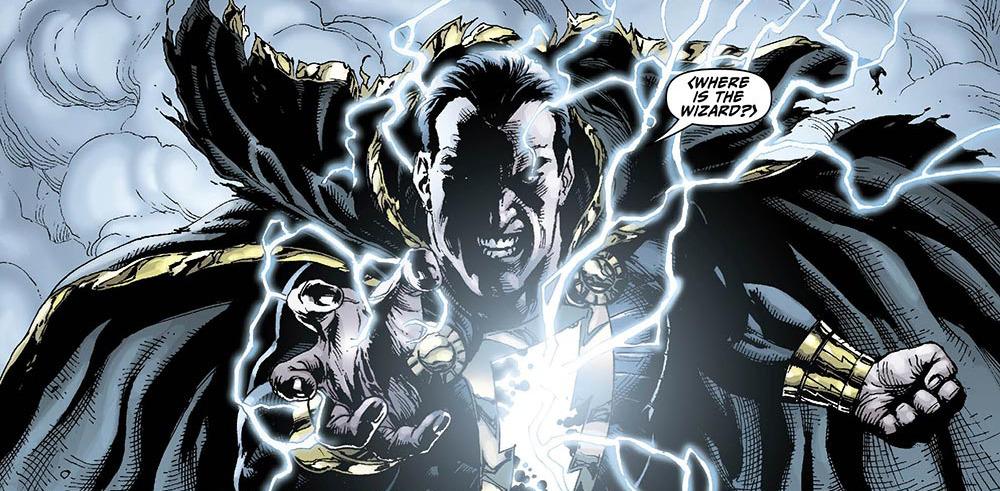 Black Adam in DC's New 52 comics