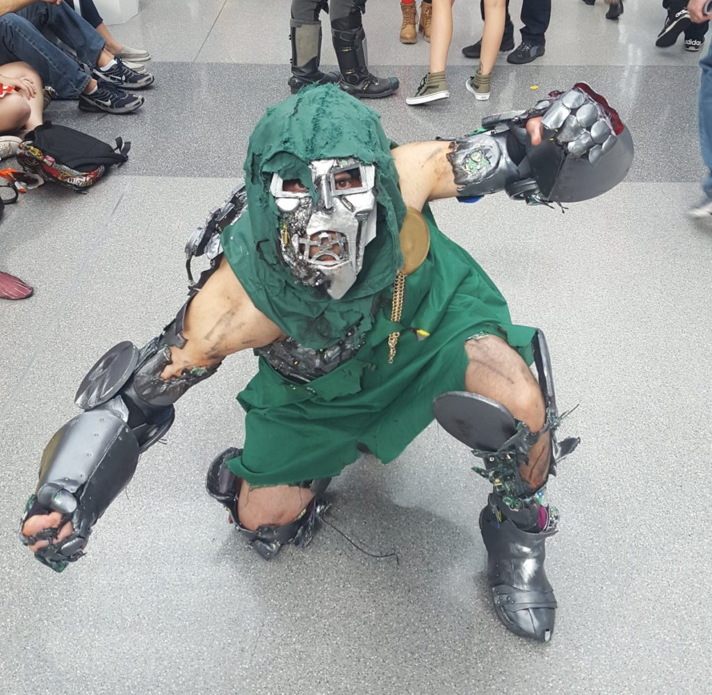 Doctor Doom cosplay at New York Comic Con